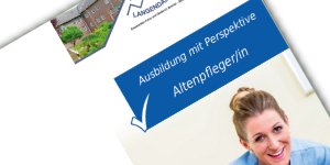 Flyer Ausbildung Altenpflege