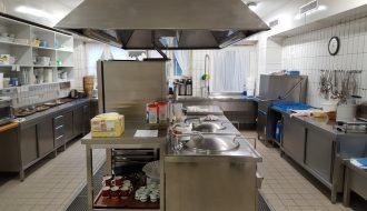 Unsere hauseigene Küche